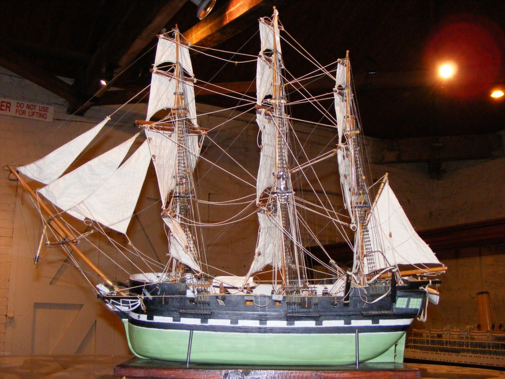 Model of the 1813 build HMS buffalo