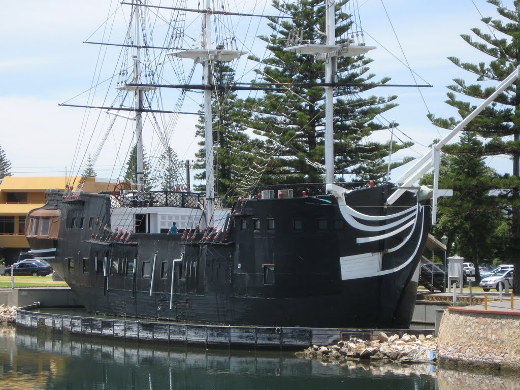 another image of the hms buffalo in south australia