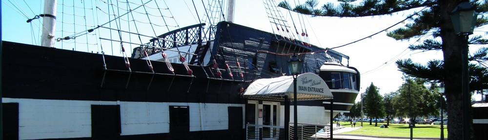 HMS Buffalo Australia