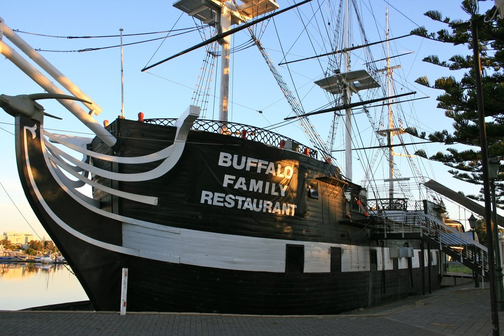 front view of the buffalo restaurant