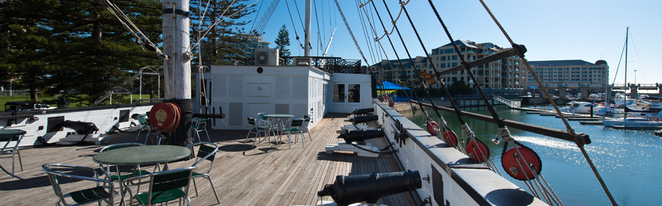 hms buffalo replica deck