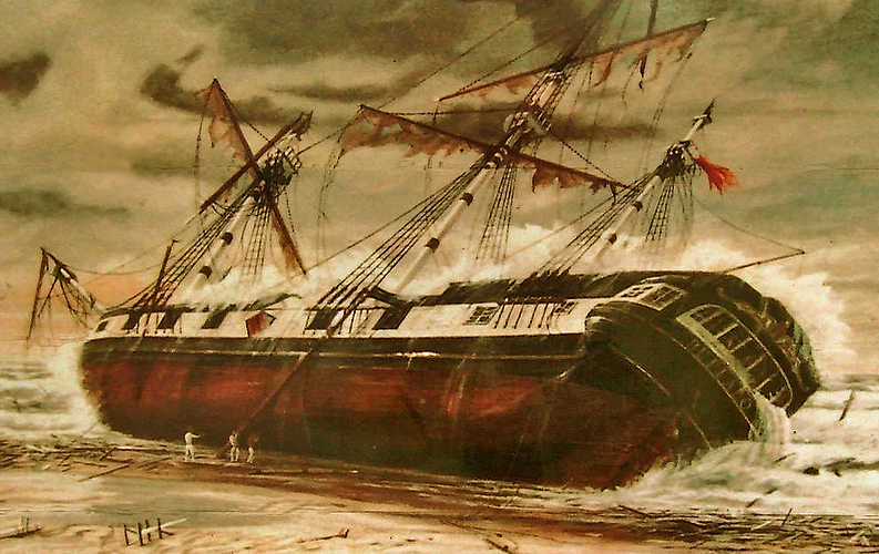 wreck of the buffalo